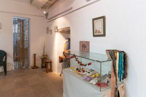 Ausstellung von traditionellem Kunsthandwerk: